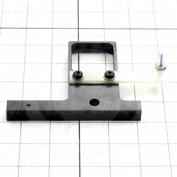 Fabricated Parts, Coil Support Assembly, 4.63 in. Length, 3.57 in. Height, 0.50 in. Thickness