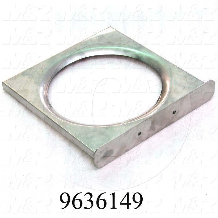 Fabricated Parts, Collecting Drawer Weldment, 14.25 in. Length, 14.76 in. Width, 2.07 in. Height