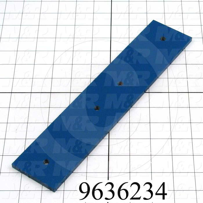 Fabricated Parts, Connecting Plate, 12.00 in. Length, 2.50 in. Width, 0.25 in. Thickness