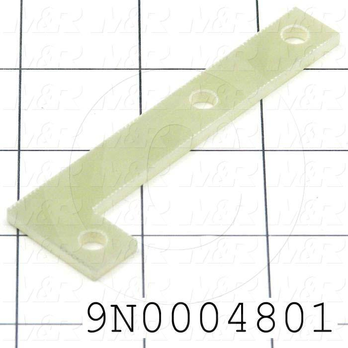 Fabricated Parts, Connection Isolator, 3.50 in. Length, 1.00 in. Width