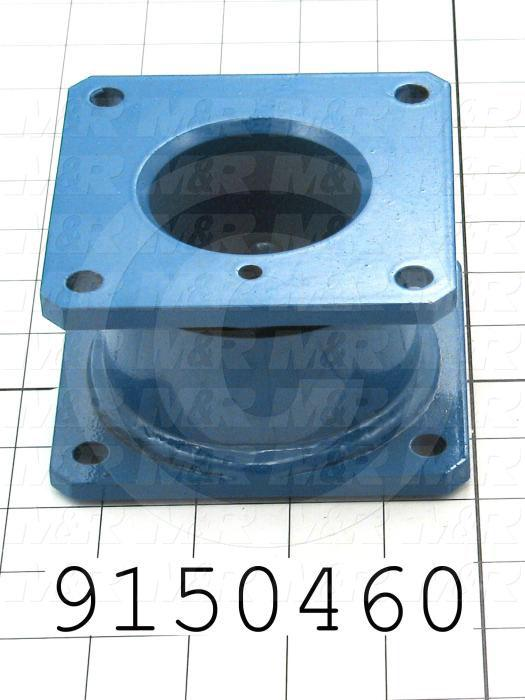 Fabricated Parts, Control Box Hanger, 4.25 in. Length