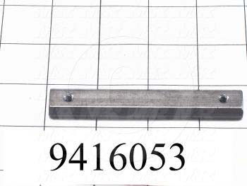 "Fabricated Parts, Control Box Nut 3.75"" RL, 3.75 in. Length, 0.63 in. Width, 0.25 in. Thickness"