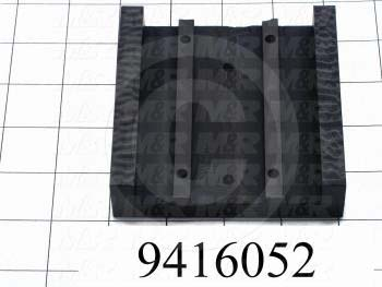 Fabricated Parts, Control Box Slide, 4.00 in. Length, 4.00 in. Width, 1.00 in. Height