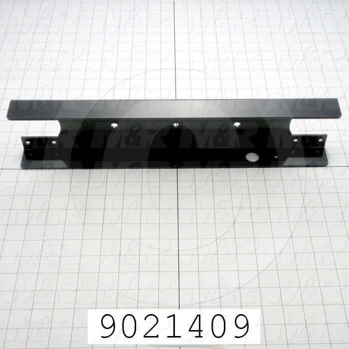 Fabricated Parts, Cross Bar, 17.85 in. Length, 4.00 in. Width, 1.63 in. Height