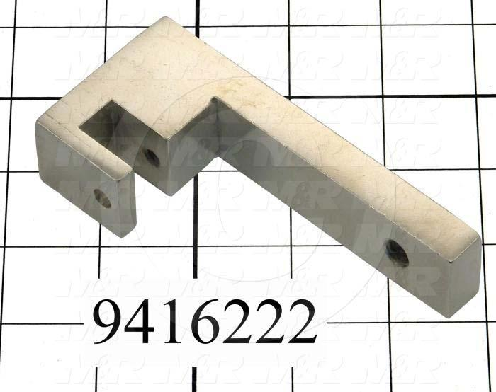 Fabricated Parts, Cylinder Attachment Weld, 4.50 in. Length, 2.02 in. Width, 1.00 in. Height