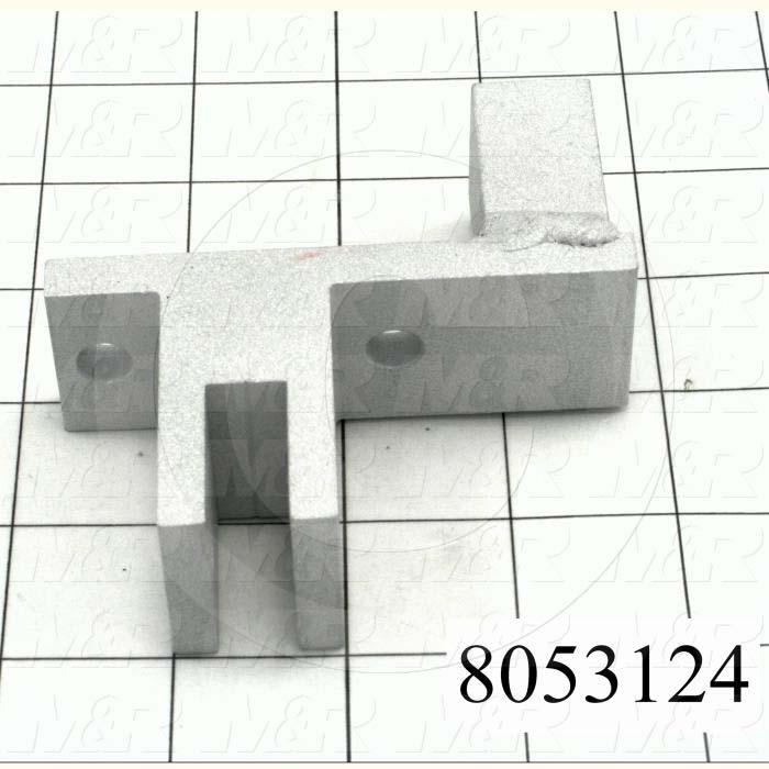 Fabricated Parts, Cylinder Clevis, 3.50 in. Length, 1.25 in. Width