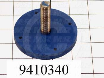 "Fabricated Parts, Cylinder Extension 2.25"", 2.23 in. Length, 3.25 in. Diameter"