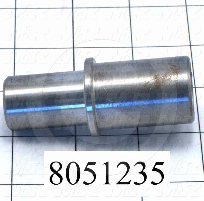 Fabricated Parts, Cylinder Extension, 2.94 in. Length, 1.25 in. Diameter