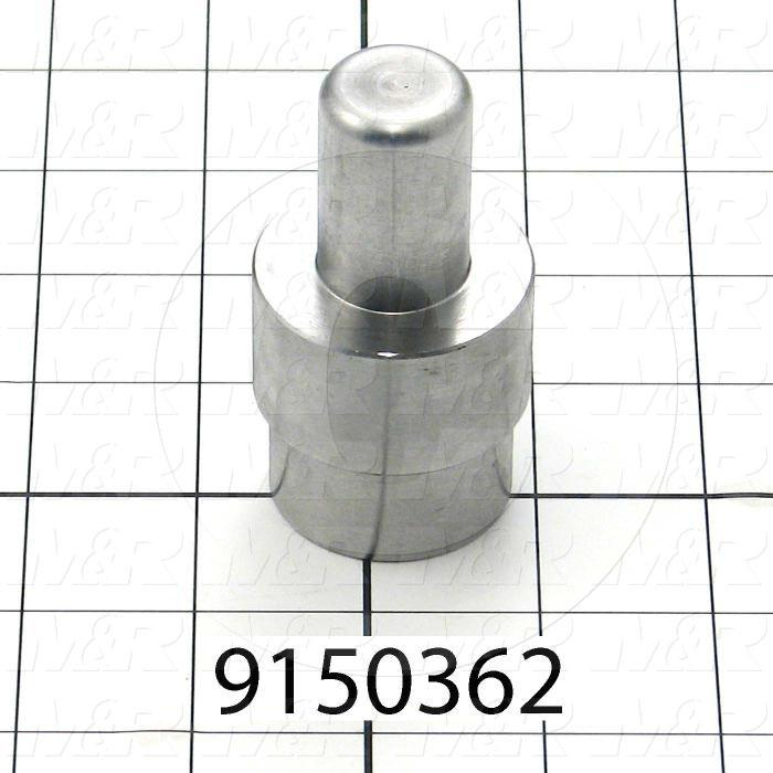 Fabricated Parts, Cylinder Extension, 3.01 in. Length, 1.44 in. Diameter, 1-14 Thread Size