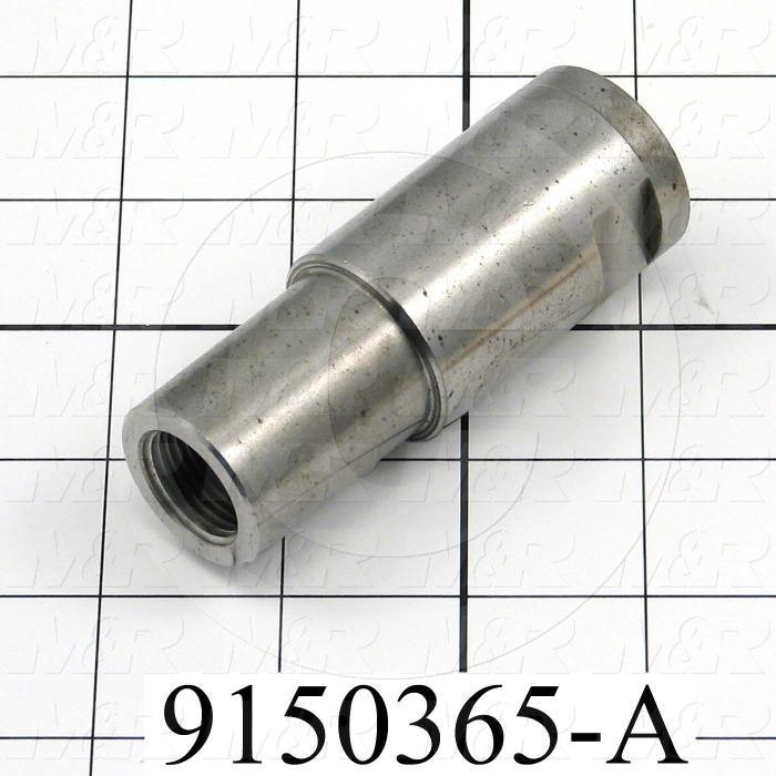 Fabricated Parts, Cylinder Extension, 3.35 in. Length, 1.24 in. Diameter