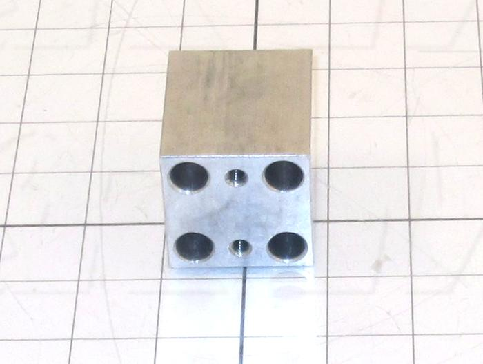 """Fabricated Parts, Cylinder Mounting Bracket 2"""" C, 2.00 in. Length, 1.75 in. Width, 1.75 in. Thickness"""