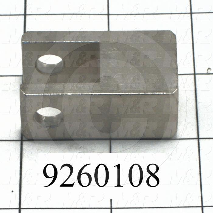 Fabricated Parts, Cylinder Pivot Bracket, 1.75 in. Length, 0.75 in. Width, 1.00 in. Height
