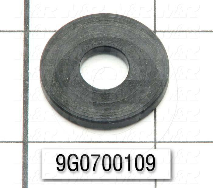 Fabricated Parts, Delrin Washer, 1.00 in. Diameter