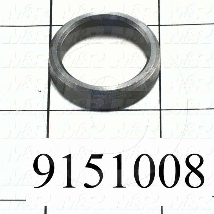 Fabricated Parts, Distance Bushing, 1.00 in. Diameter, 0.25 in. Thickness