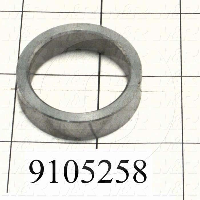 Fabricated Parts, Distance Bushing, 1.50 in. Diameter, 0.38 in. Thickness