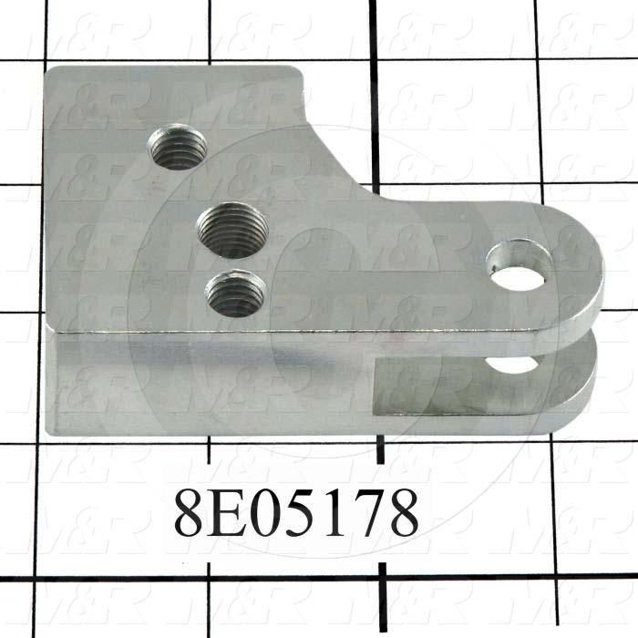 Fabricated Parts, Dripless Square Cylinder Mounting Bracket, 3.25 in. Length, 2.13 in. Width, 1.00 in. Height