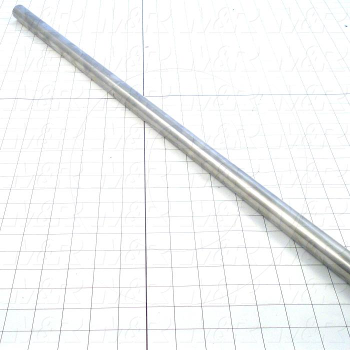 Fabricated Parts, Drive Roller Shaft, 71.50 in. Length, 1.00 in. Diameter