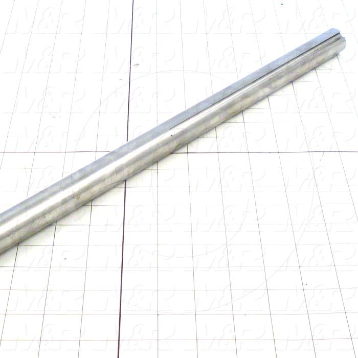 Fabricated Parts, Drive Shaft, 59.75 in. Length, 1.00 in. Diameter