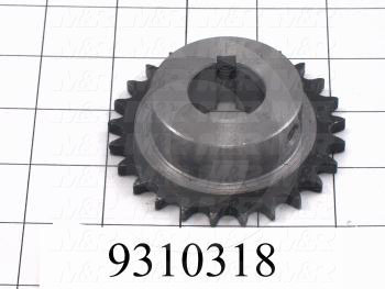 Fabricated Parts, Drive Sprocket, 3.00 in. Diameter, 0.78 in. Thickness