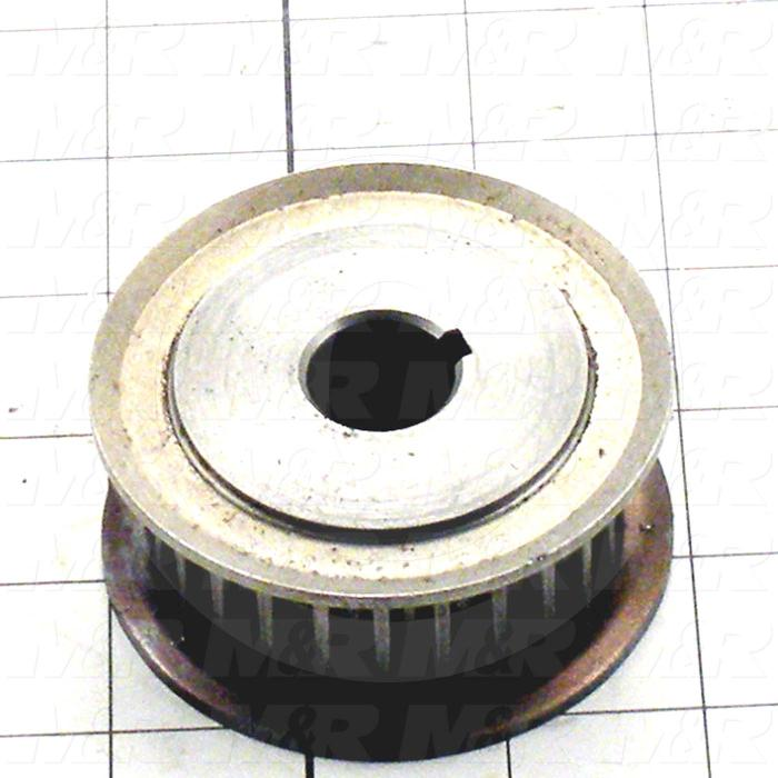 Fabricated Parts, Drive Sprocket Machined, 1.30 in. Length