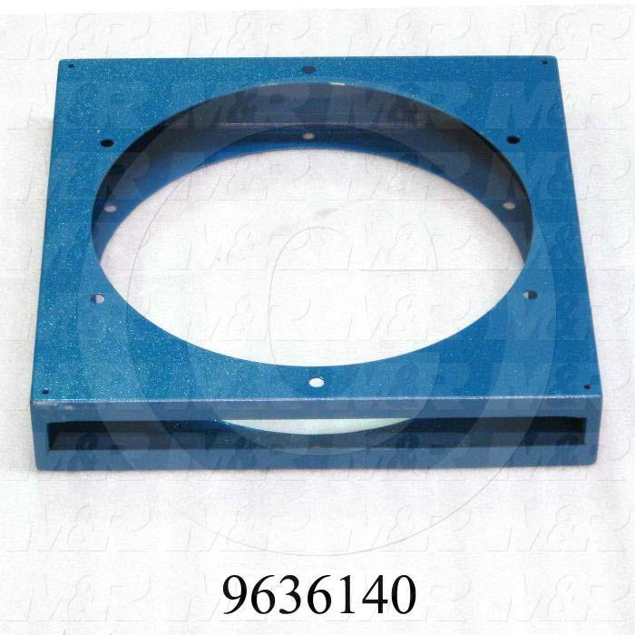 Fabricated Parts, Filter Holder, 14.70 in. Length, 14.70 in. Width, 2.56 in. Height
