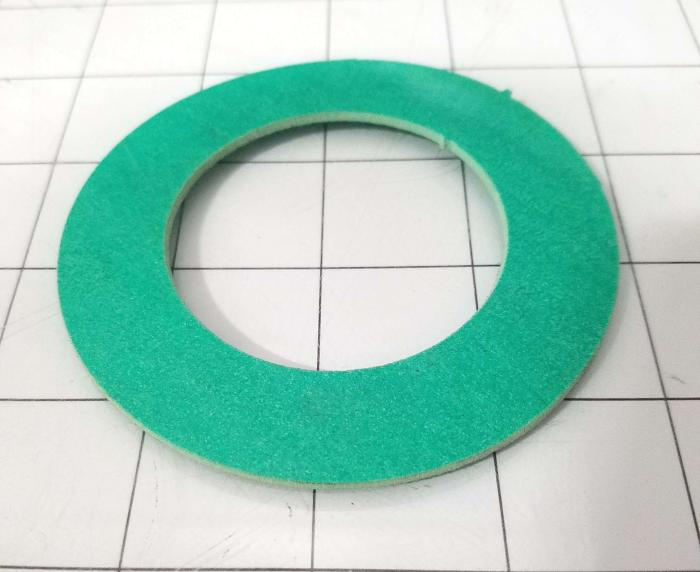 Fabricated Parts, Flange Seal, 3.62 in. Diameter, 0.06 in. Thickness