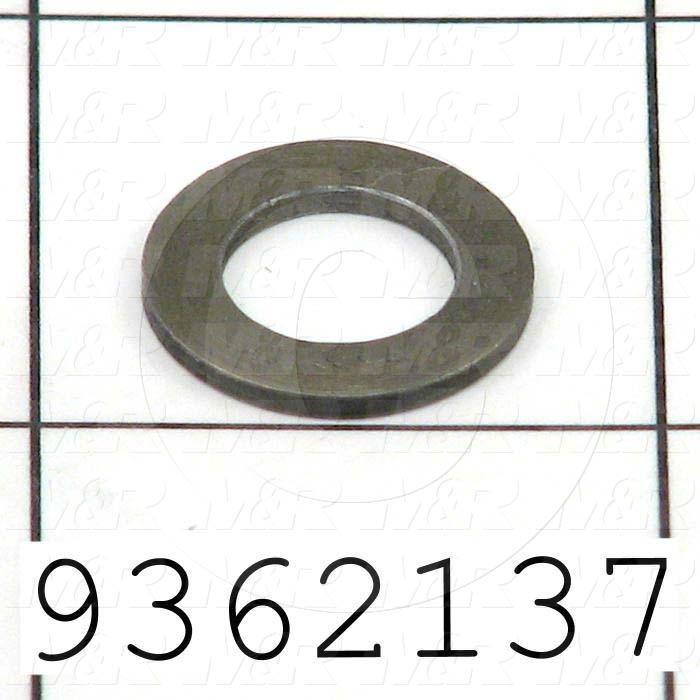 Fabricated Parts, Flat Washer, 0.63 in. Diameter, 0.063 in. Thickness
