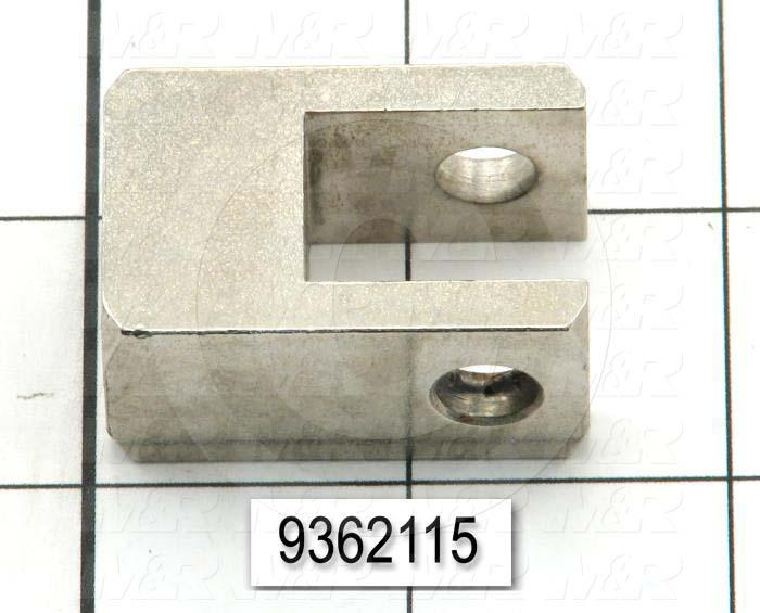 Fabricated Parts, Flood Pivot Bracket, 0.75 in. Length, 1.00 in. Width, 1.50 in. Height
