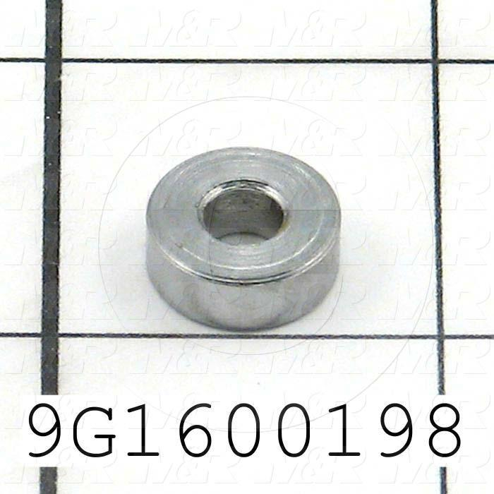 Fabricated Parts, Folding Plate Spacer, 0.188 in. Height, 0.50 in. Diameter