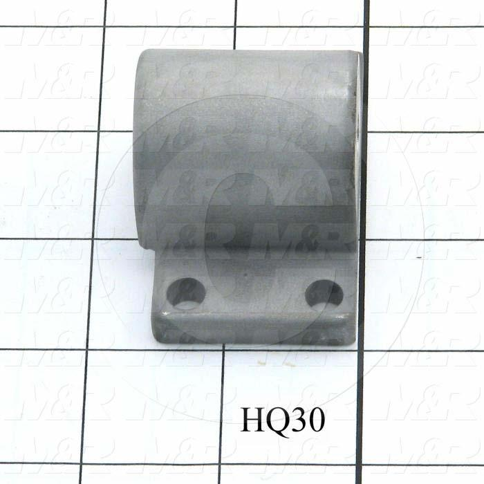 Fabricated Parts, Frame Latch Housing, 1.63 in. Length, 2.50 in. Width, 1.50 in. Height