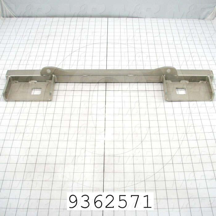 Fabricated Parts, Front Master Frame Bar, 26.50 in. Length, 4.50 in. Width, 2.50 in. Height