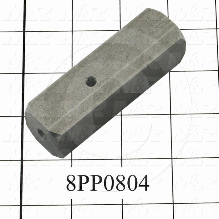 Fabricated Parts, Front Micro Adjustment Bar, 3.50 in. Length, 1.00 in. Width, 1.00 in. Height
