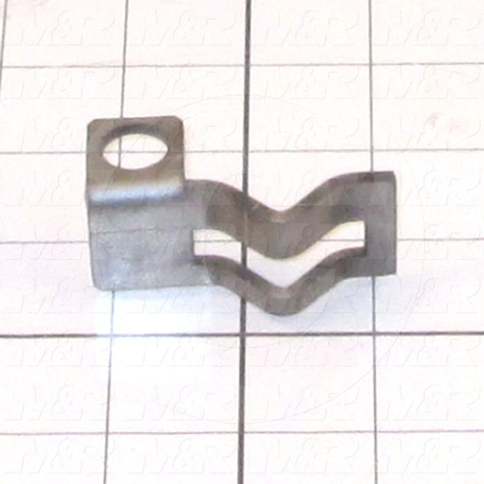 Fabricated Parts, Front Prox Mounting Bracket, 2.13 in. Length, 1.35 in. Width, 1.00 in. Height, 12 GA Thickness