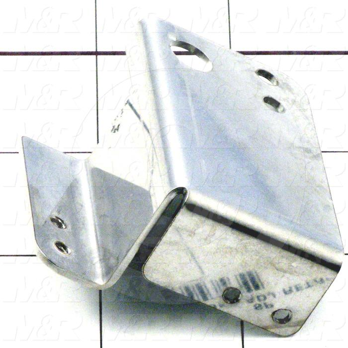 Fabricated Parts, Front Proximity Bracket, 2.39 in. Length, 0.75 in. Width, 1.03 in. Height