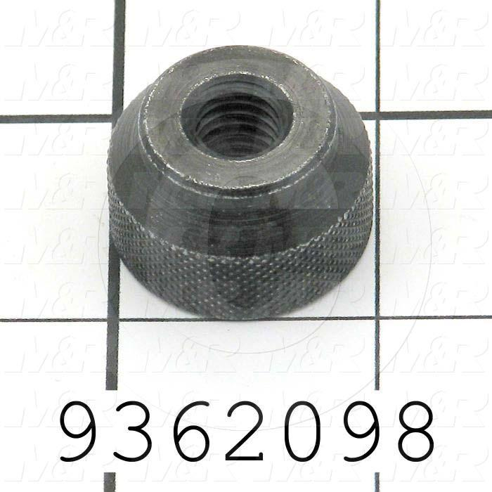 Fabricated Parts, Front Screen Holder Knob, 0.63 in. Length, 1.00 in. Diameter