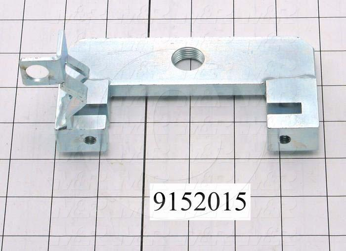 Fabricated Parts, Front Shock Absorbers Mounting Bracket, 5.75 in. Length, 2.88 in. Width, 3.00 in. Height