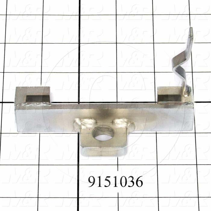 Fabricated Parts, Front Shock Mounting Bracket, 5.75 in. Length, 3.31 in. Width, 1.25 in. Height