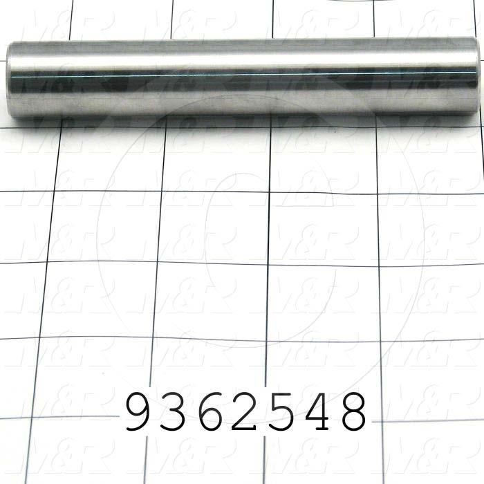 Fabricated Parts, Front Slider, 4.50 in. Length, 0.75 in. Diameter