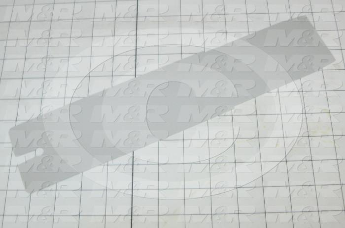 Fabricated Parts, Front Spider Arm Cover, 13.00 in. Length, 3.00 in. Width, 1.50 in. Thickness