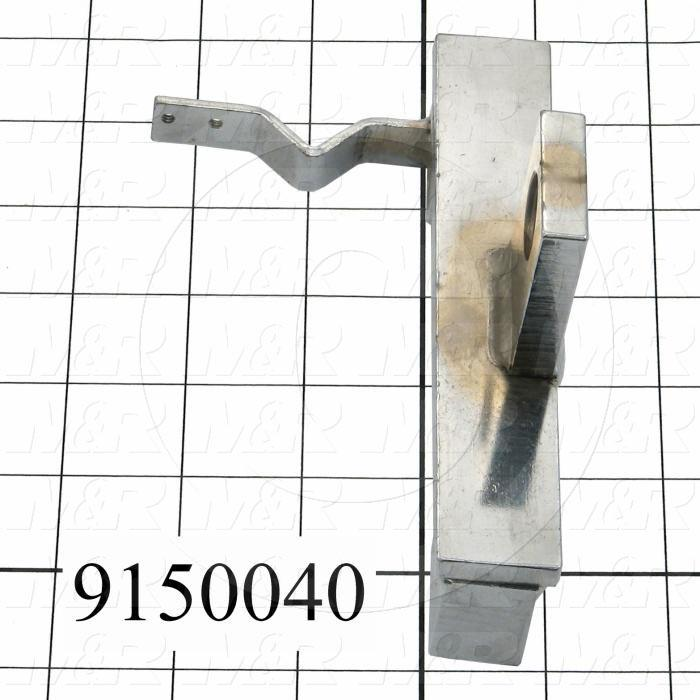 Fabricated Parts, Front Stroke Adjust Bracket, 5.75 in. Length, 3.31 in. Width, 3.00 in. Height