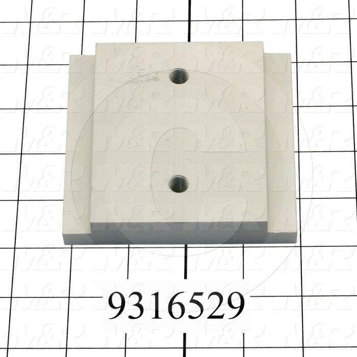 "Fabricated Parts, Gripper Lower Clamp 3.75"" To, 4.00 in. Length, 3.75 in. Width, 0.75 in. Thickness"