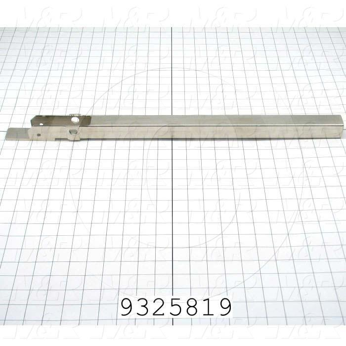 "Fabricated Parts, Gripper Tube Weldment 24"", 24.00 in. Length, 1.50 in. Width, 1.43 in. Height"