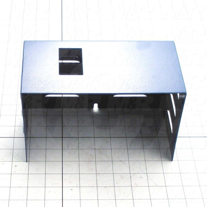Fabricated Parts, Head Control Box Cover, 8.88 in. Length, 4.79 in. Width, 5.42 in. Height