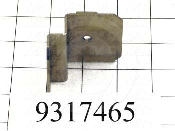 Fabricated Parts, Head Proximity Sensor Angle, 2.13 in. Length, 2.00 in. Width, 1.56 in. Height