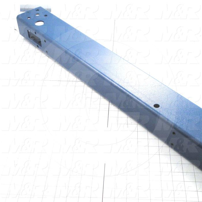 Fabricated Parts, Head Tube, 47.44 in. Length, 3.00 in. Width, 4.00 in. Height