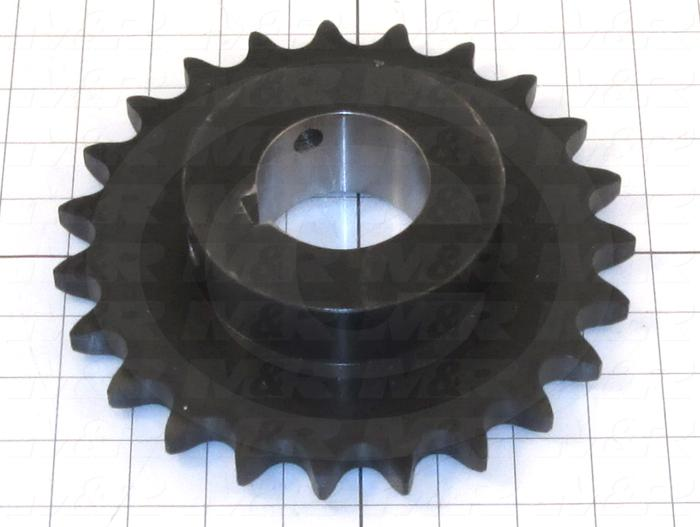 Fabricated Parts, High Lift Sprocket, 1.75 in. Length, 7.88 in. Diameter, Painted Black Finish