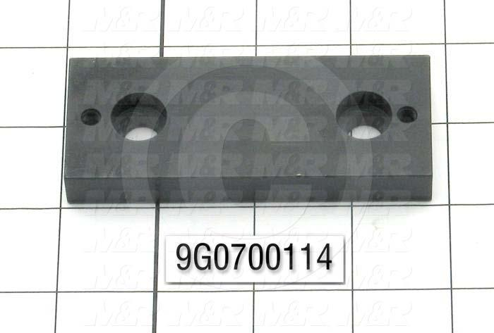 Fabricated Parts, Horn Pivot Body, 3.75 in. Length, 1.50 in. Width, .50 in. Thickness