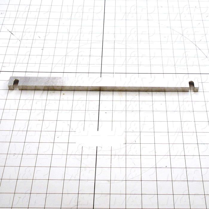 "Fabricated Parts, Horz Alum Tube .5""X 1""X 14.57"", 13.44 in. Length, 1.00 in. Width, 0.50 in. Height"