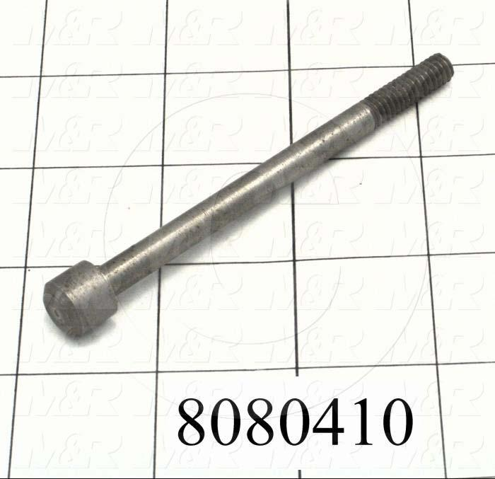 Fabricated Parts, Hub Bolt, 3.88 in. Length, 1/4-20 Thread Size