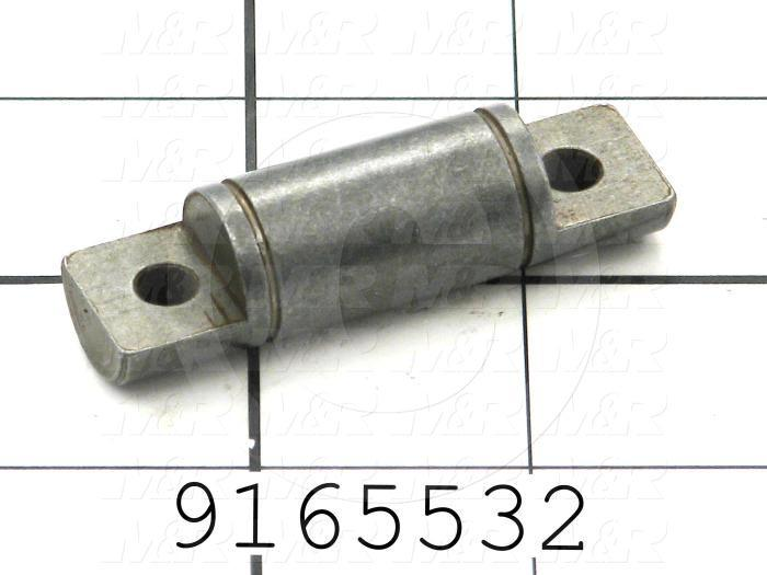 Fabricated Parts, Idler Roller Shaft, 2.23 in. Length, 0.63 in. Diameter